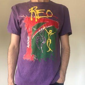 Vintage Reo Speedwagon t-shirt.